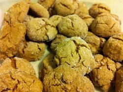 Ginger Molassas Cookies