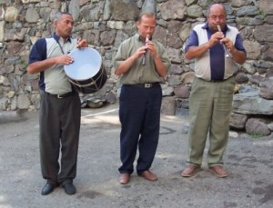 Armenian traditional musicians